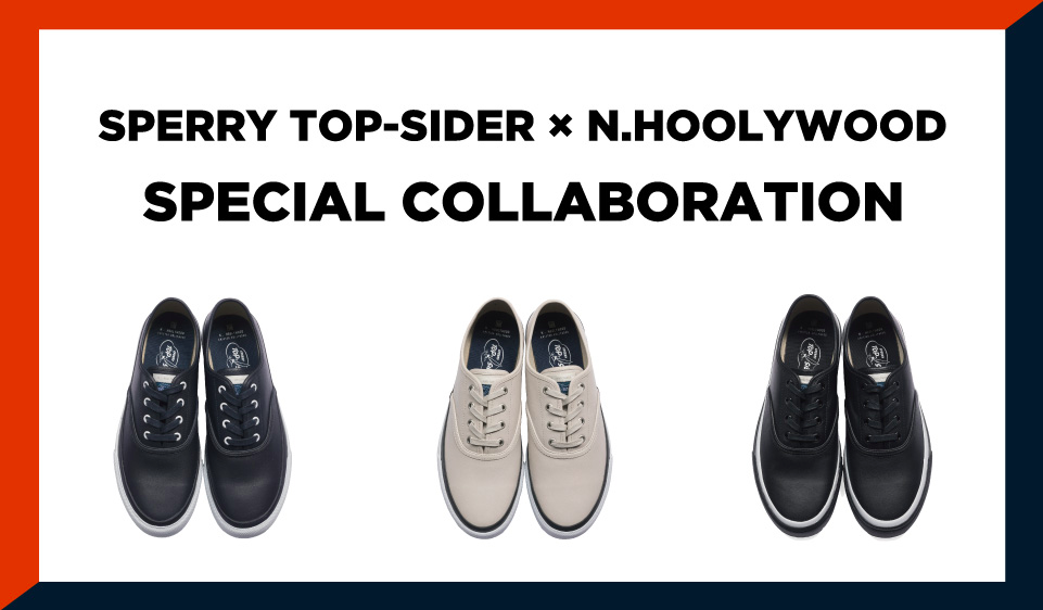 N.HOOLYWOOD × SPERRY TOP-SIDER