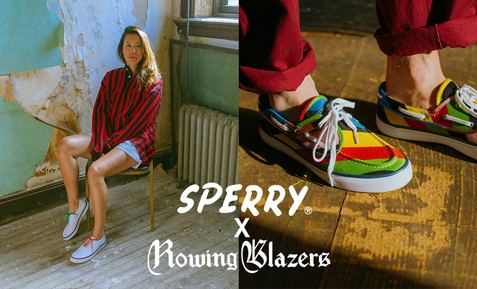 ROWING BLAZERS× SPERRY TOP-SIDER SPECIAL COLLABORATION